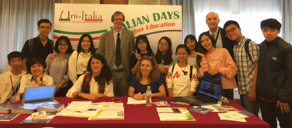 A delegation of the University of Brescia participated to the Italian Days on Higher Education in Vietnam
