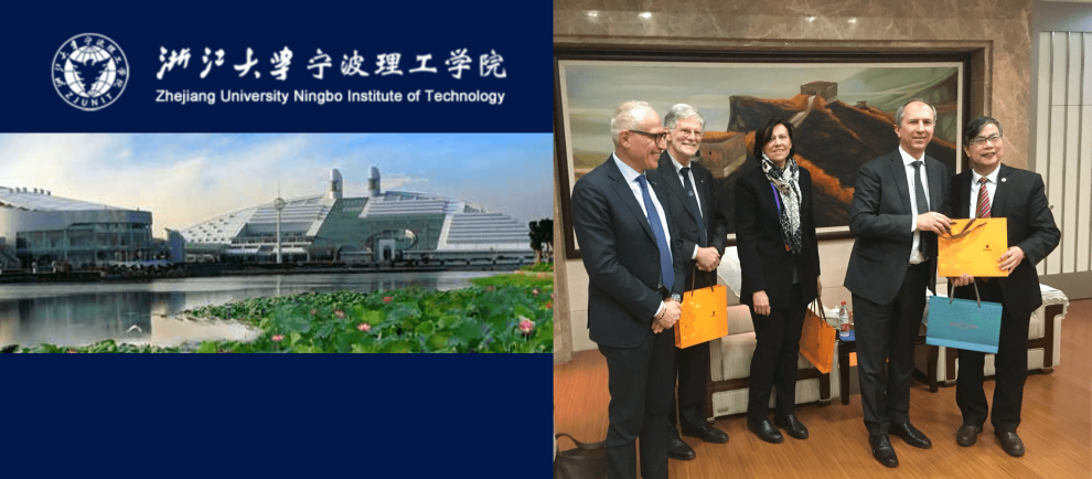 The University of Brescia consolidated its relations with Zhejiang University Ningbo Institute of Technology